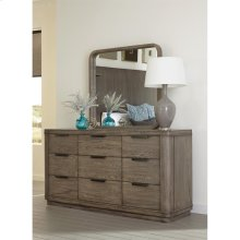 Precision - Nine Drawer Dresser - Gray Wash Finish