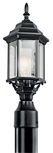 Chesapeake 1 Light Post Light Black