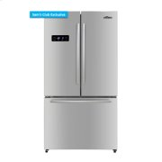 36 Inch Free Standing Counter Depth French Door Refrigerator In Stainless Steel Product Image