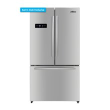 36 Inch Free Standing Counter Depth French Door Refrigerator In Stainless Steel