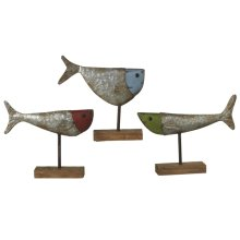 Fish on Stand (3 asstd)