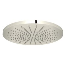 "Polished Nickel 12"" Rodello Circular Rain Showerhead"