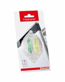 GP FR G 0042 L Freshener, .14 oz for a pleasant fragrance in the dishwasher.
