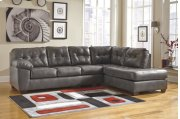 2 PIECE SECTIONAL WITH RAF CORNER CHAISE Product Image