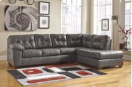 2 PIECE SECTIONAL WITH RAF CORNER CHAISE