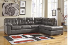 Alliston Gray Sectional (Right Side Chaise) Product Image