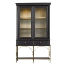 Arrondissement - Salon Cercle Cabinet In Rustic Charcoal