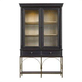 Arrondissement - Salon Cercle Cabinet In Rustic Charcoal