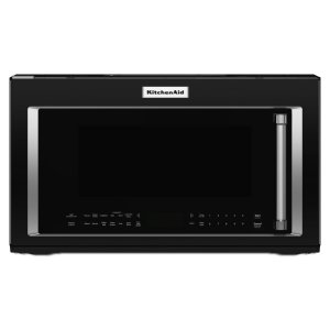 Kitchenaid1000-Watt Convection Microwave Hood Combination - Black