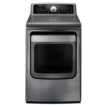 7.4 cu. ft. King-size Capacity Gas Dryer (Platinum)