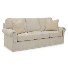 Studio C Sofa Straight Cushion Raised Panel