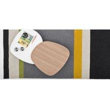 Modern coloured wool rug