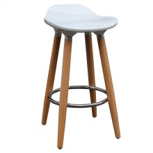 Trex 26'' Counter Stool, set of 2, in White