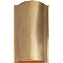 Visual Comfort KW2704AB-FG Kelly Wearstler Avant LED 7 inch Antique-Burnished Brass Wall Sconce Wall Light