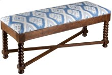 Large Barley Twist Bench