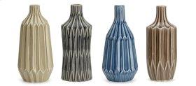 Vaughan Ceramic Vases - Ast 4