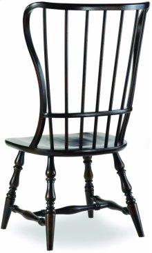 Sanctuary Spindle Side Chair-Ebony