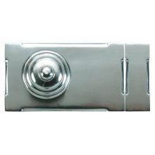 Rim Lock Bauhaus Style