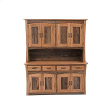 Hampton Heath 4 Door 4 Drawer Hutch - (top)