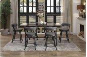 Swivel Pub Height Chair, Gray