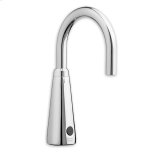 American StandardPolished Chrome Selectronic IC Proximity Faucet, Hard-Wired AC, 1,5 gpm LF in Spout Base & Plain Spout End