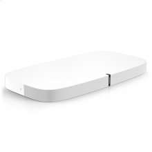 White- The sleek soundbase for TV, films, music, and more.