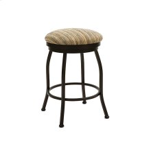 Fresno B506H26BS Backless Swivel Bar Stool