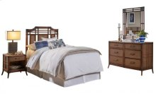 Palm Island 4 PC Twin Bedroom Set