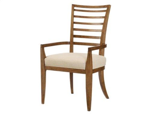 Ladder Back Arm Chair - Kd