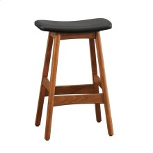 Counter Height Stool, Matt Black
