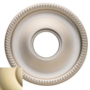 Lifetime Polished Brass 5076 Estate Rose Product Image