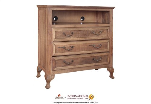1 Drawer, 2 Doors Nightstand