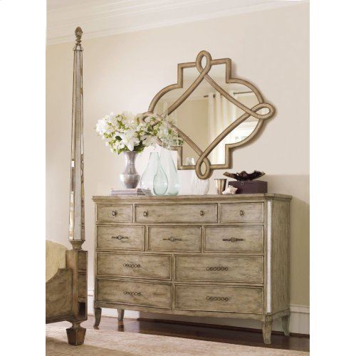 Sanctuary Shaped Mirror - Visage