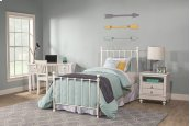 Molly Twin Duo Panel White - Must Order 2 Panels for Complete Bed Set