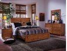 4/6 Full Rails - Cinnamon Pine Finish Product Image