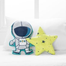 Cosmic Throw Pillows, 2- Pack - Gray and Yellow