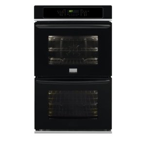 Gallery 30'' Double Electric Wall Oven - BLACK