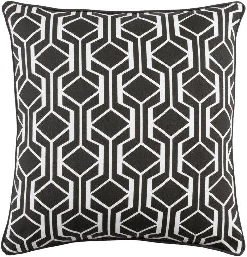 "Inga INGA-7034 18"" x 18"" Pillow Shell Only"