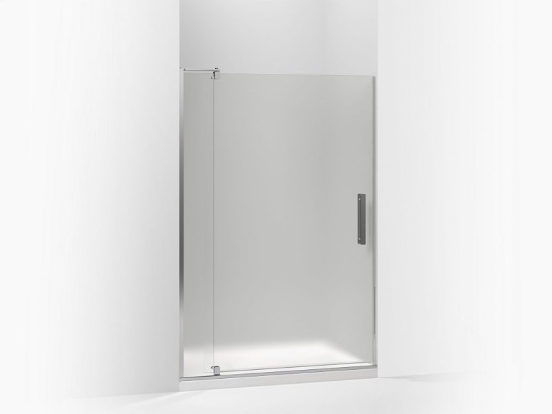 K707546D3SHP in Frosted Glass With Bright Polished Silver Frame by ...
