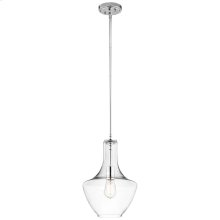 Everly Collection Pendant 1 Light CH