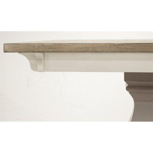 Myra - Table Base - Natural/paperwhite Finish