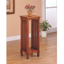 Mission Traditional Oak Plant Stand