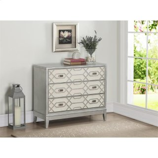 3 Drawer Accent Chest