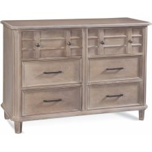Chesapeake Six Drawer Dresser