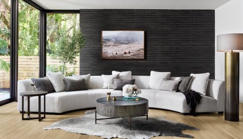 Dover Crescent Cover Liam 2-piece Sectional