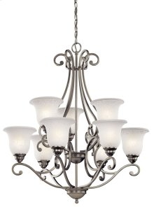 Camerena 9 Light Chandelier Brushed Nickel