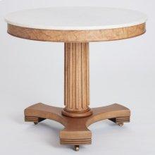 Classic Center Table-Olive Ash Burl