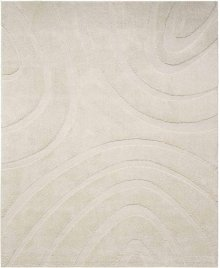 Jaspar Jasp1 Cream Rectangle Rug 6'7'' X 9'6''