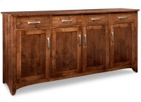Glengarry Sideboard w/4 Wood Doors & 4/Drws & 3/Wood Adjust. Product Image