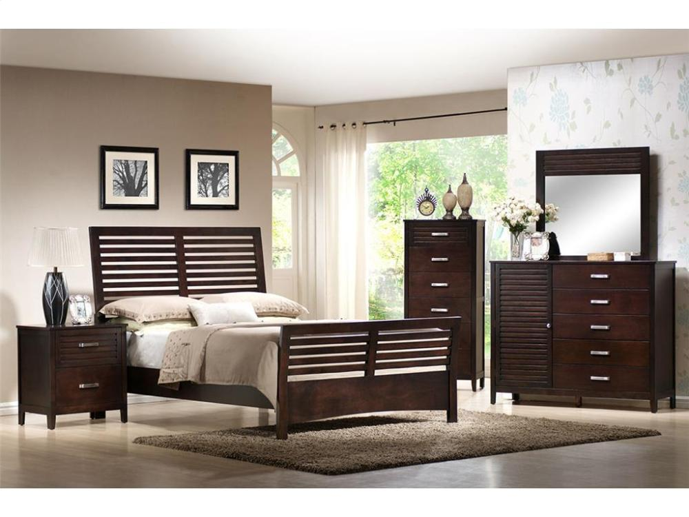 Elements Furniture DL100 Dalton Bedroom Set Houston Texas USA Aztec  Furniture